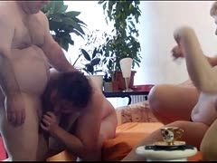 Linda Fox and her friend share a cock