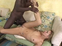 Blonde milf enjoys bbc