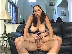 Tyce Bune bangs Rachel Hobbs and her monster boobs