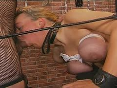 Germans having bondage sex