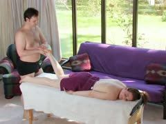 Massage including a climax
