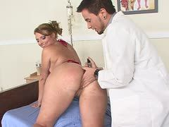 Doctor is keen on his patient