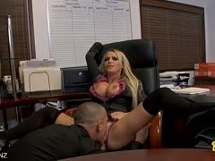 Office sex with Nikki Benz