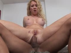 Anal sex with the blonde sister